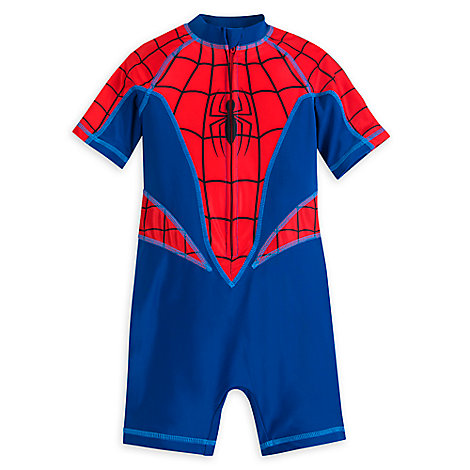 Spider-Man One-Piece Rash Guard for Boys