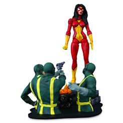 Spider-Woman Action Figure - Marvel Select - 7''