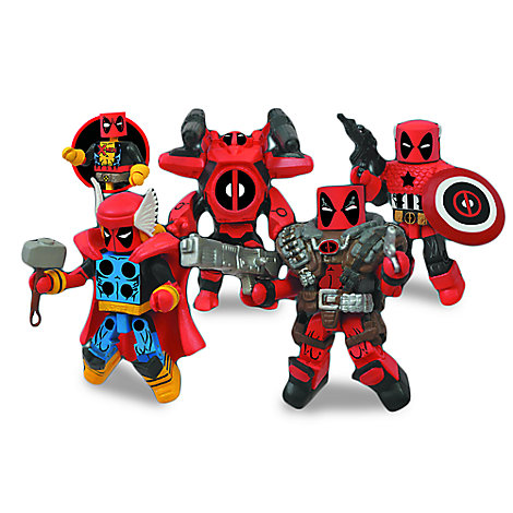 Marvel Deadpool Minimates Set