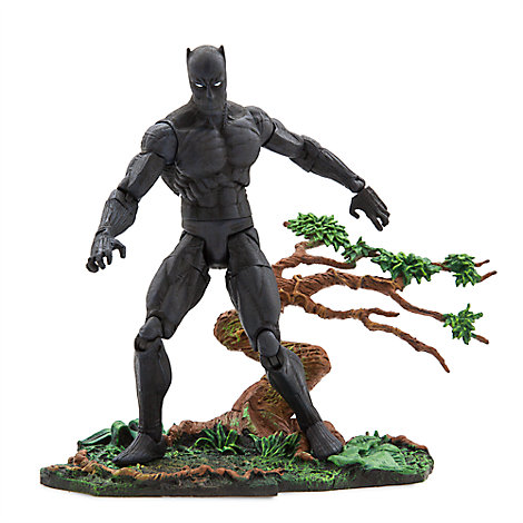Black Panther Action Figure - Marvel Select by Diamond - 7''