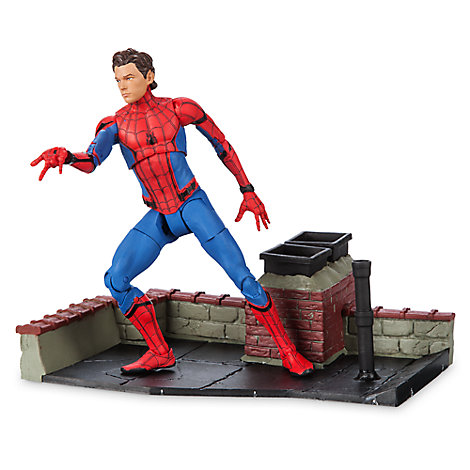 Spider-Man Action Figure - Marvel Select - Spider-Man: Homecoming - 7''