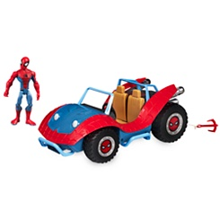 Spider-Man with Spider-Mobile Playset - Marvel Toybox