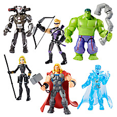 Disney Boutique Marvel Avengers Initiative 6 figurine playset