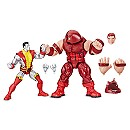 Colossus and Juggernaut Action Figure Set - Legends Series - 80th Anniversary