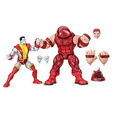 Colossus and Juggernaut Action Figure Set - Legends Series - Marvel 80th Anniversary