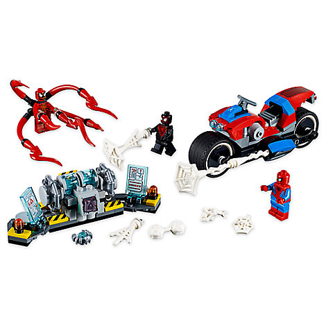 Spider-Man Bike Rescue Playset by LEGO
