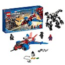 Spiderjet vs. Venom Mech Playset by LEGO ? Spider-Man