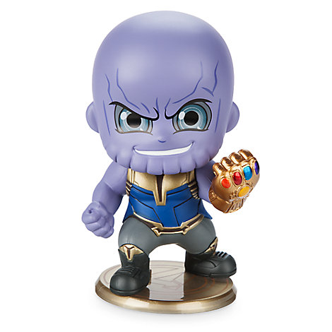 Thanos Cosbaby Bobble-Head Figure by Hot Toys - Marvel's Avengers: Infinity War