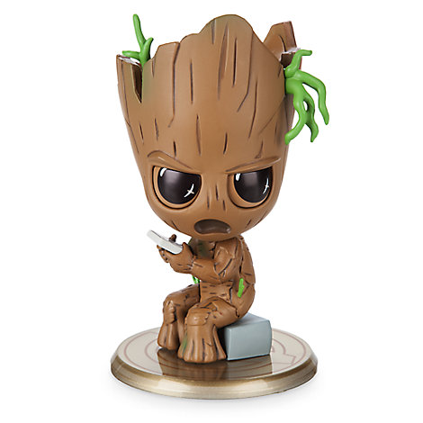 Groot Cosbaby Bobble-Head Figure by Hot Toys - Marvel's Avengers: Infinity War