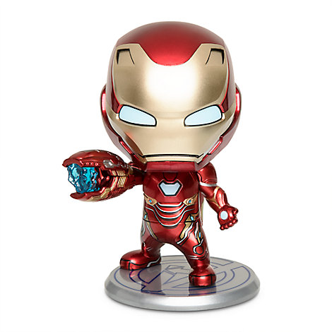 Iron Man Mark L Cosbaby Bobble-Head Figure by Hot Toys - Marvel's Avengers:  Endgame