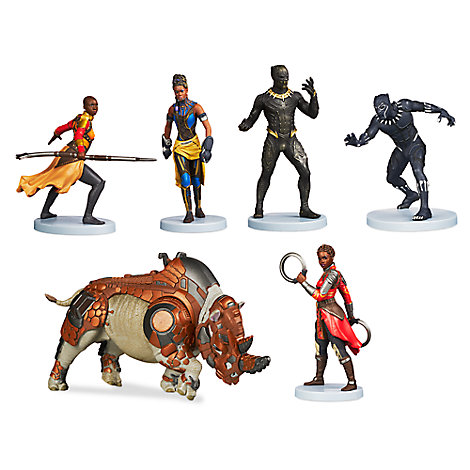Black Panther Figure Set Play Sets Amp More Marvel Shop