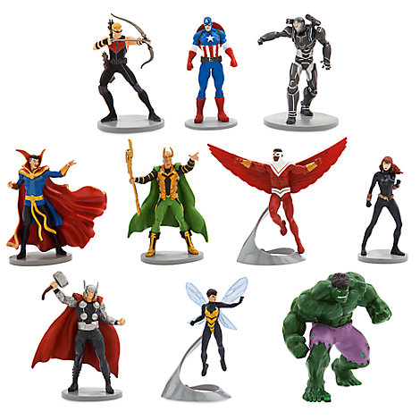 Marvel Avengers Figurine Set