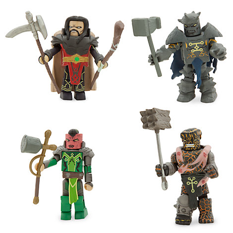 Marvel MiniMates Fear Itself Series - 4-Pack - The Worthy