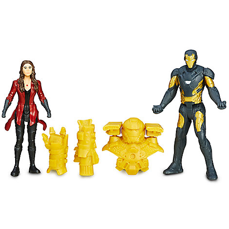 Marvel's Captain America Civil War Action Figure Set - Iron Man and Scarlet Witch