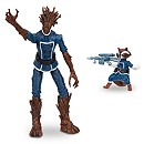 Groot and Rocket Raccoon - Action Figure Set - Guardians of the Galaxy - 6''