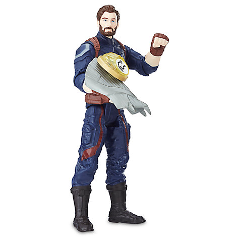 Captain America Action Figure with Infinity Stone - Marvel's Avengers: Infinity War