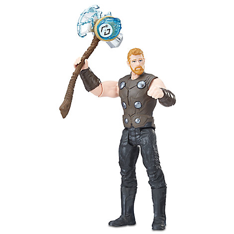 Thor Action Figure with Infinity Stone - Marvel's Avengers: Infinity War
