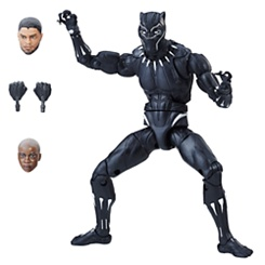 Black Panther Action Figure - Black Panther Legends Series - 6''