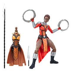 Nakia Action Figure - Black Panther Legends Series - 6''