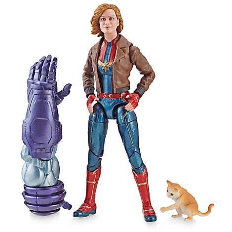 Captain Marvel (Bomber Jacket) Action Figure - Legends Series - Captain Marvel