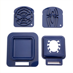 Spider-Man Sandwich Stamp and Crust Cutter Set - Disney Eats