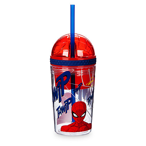 Spider-Man Tumbler with Snack Cup and Straw