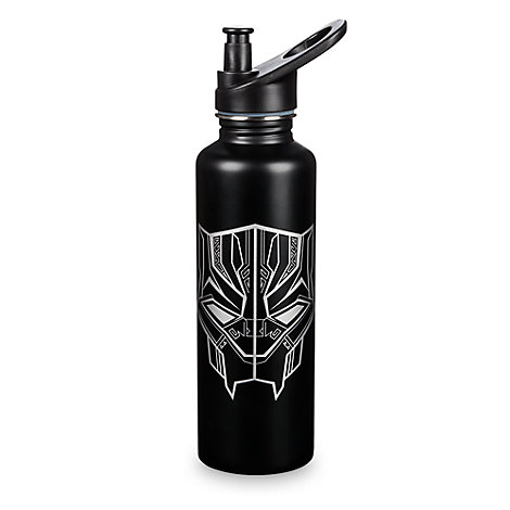 Black Panther Stainless Steel Water Bottle