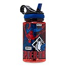 Spider-Man Water Bottle with Built-In Straw