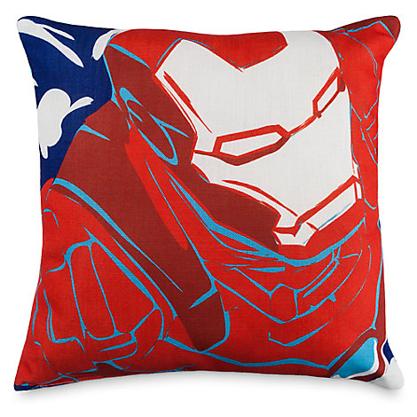 Iron Man and Thor Throw Pillow
