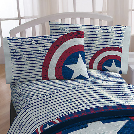 Captain America Sheet Set - Twin