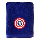 Captain America Shield Bath Towel