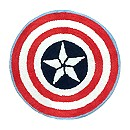 Captain America Shield Bath Rug