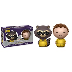 Rocket and Peter Quill Dorbz Vinyl Figure Set by Funko