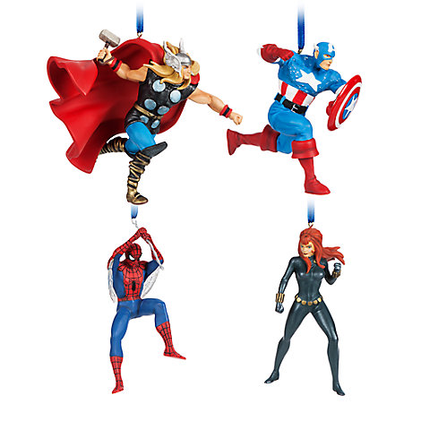 Marvel Figural Ornament Set - Limited Edition