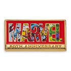 Marvel 80th Anniversary Logo Pin ? Limited Release