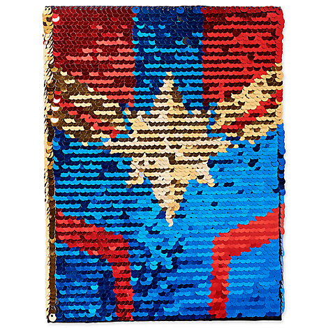 Marvel's Captain Marvel Reversible Sequins Journal