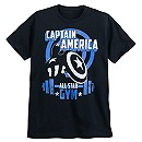 Captain America ''All Star Gym'' T-Shirt for Men