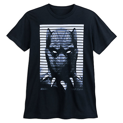 Black Panther Face T-Shirt for Adults