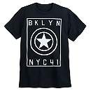 Captain America ''BKLYN NYC41'' T-Shirt for Adults