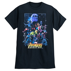 Marvel's Avengers: Infinity War T-Shirt for Adults - Movie Poster