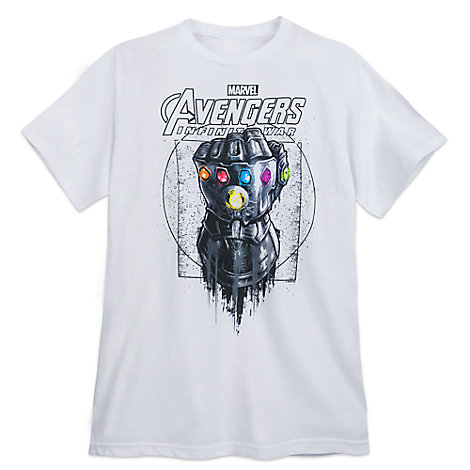 Infinity Gauntlet T-Shirt for Adults - Marvel's Avengers: Infinity War