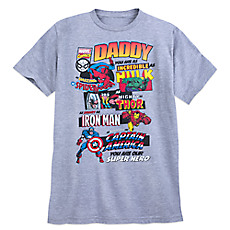 44701922 Marvel Comics Daddy T-Shirt for Adults