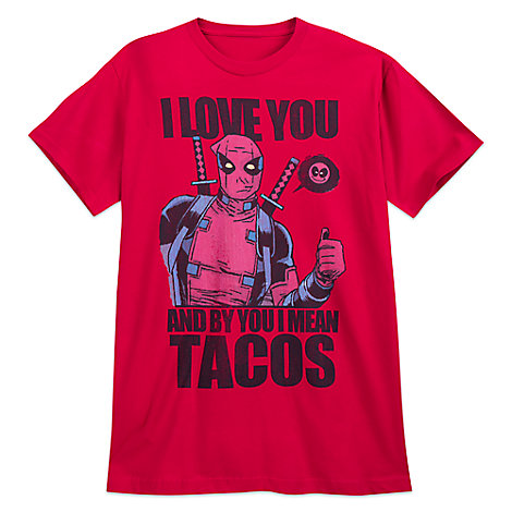 Deadpool T-Shirt for Adults - Red