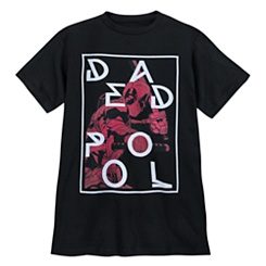 Deadpool T-Shirt for Adults - Black
