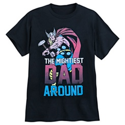 Thor ''Mightiest Dad'' T-Shirt for Adults