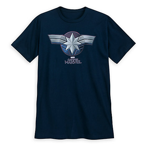 Marvel's Captain Marvel Emblem T-Shirt for Men
