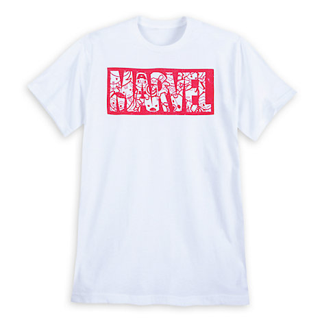 Marvel Kawaii Logo T-Shirt for Men