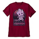 Groot Kawaii Art T-Shirt for Men