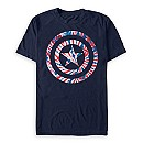 Captain America Tie-Dye T-Shirt for Men