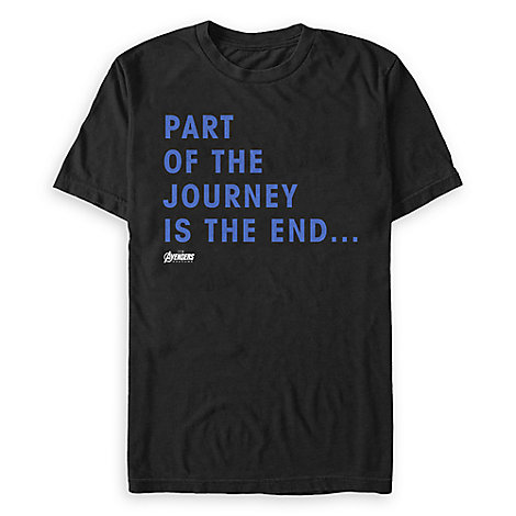 Marvel's Avengers: Endgame Quote T-Shirt for Adults
